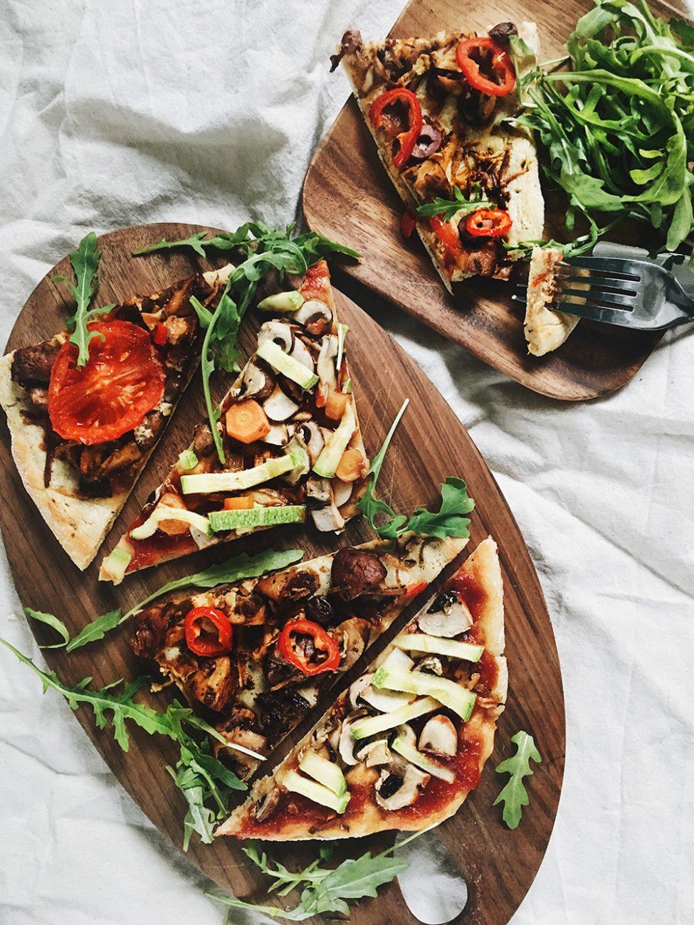 Integralna pizza sa povrćem