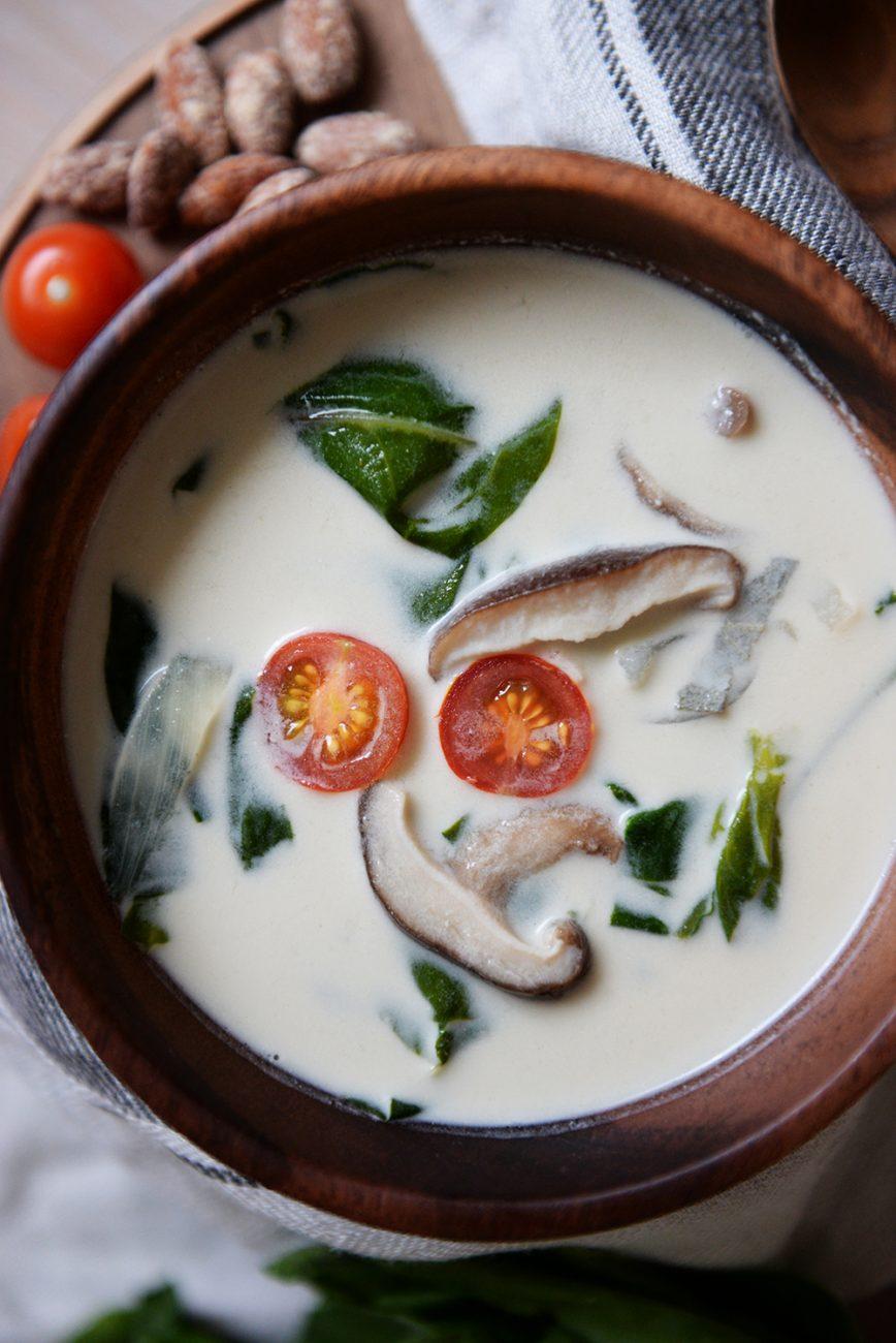 Aromatična kremasta juha sa blitvom i shiitake gljivama