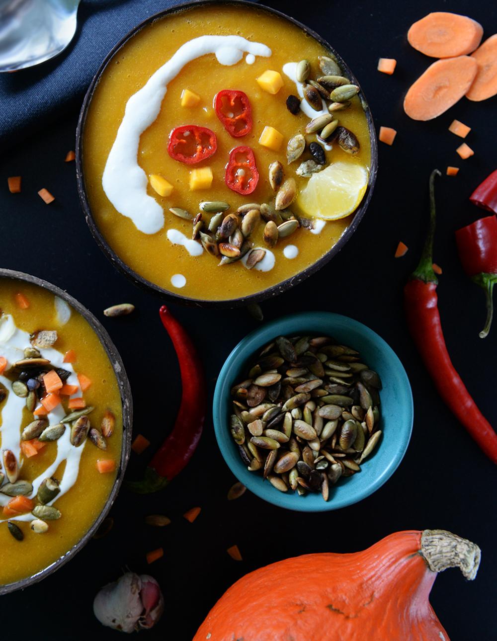 Slatko-ljuta krem juha od bundeve
